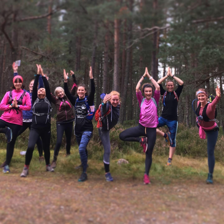 Yoga and trail running retreat